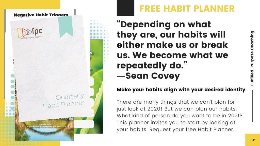 free habit planner